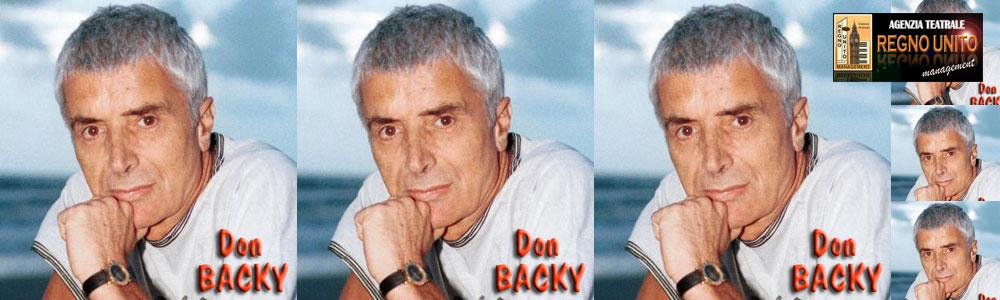 DON BACKY - IL GRANDE ARTISTA